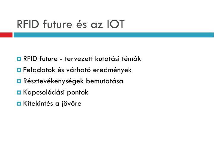 Rfid future s az iot