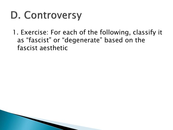 D. Controversy