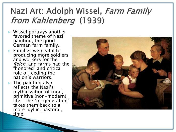 Nazi Art: Adolph Wissel,
