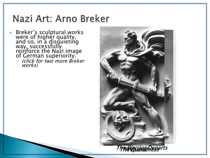 Nazi Art: Arno Breker