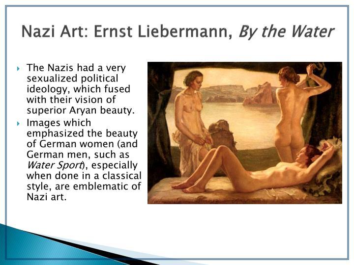 Nazi Art: Ernst Liebermann,