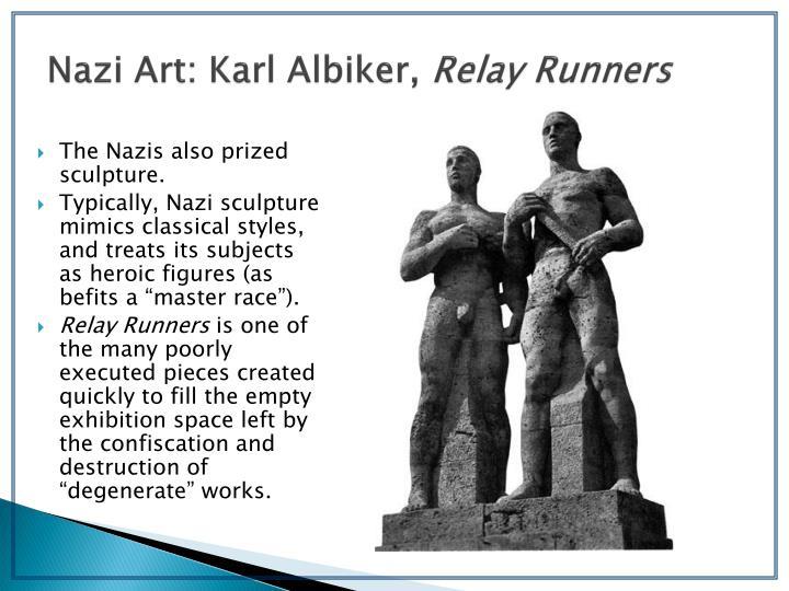 Nazi Art: Karl Albiker,