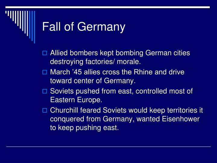 Fall of Germany