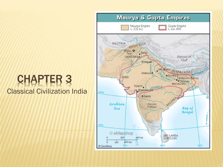 compare and contrast mauryan gupta india and imperial rome