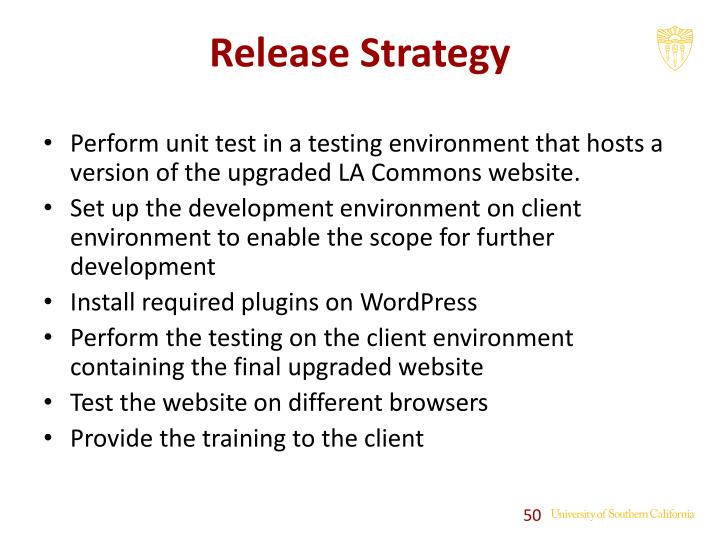 Release Strategy