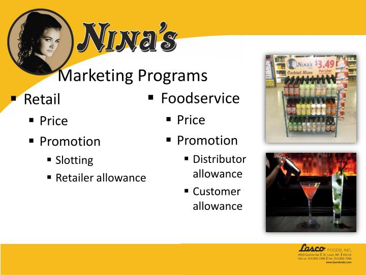 Marketing Programs