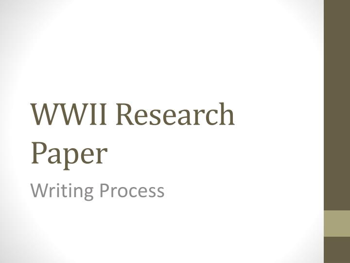research paper writing process ppt Lesson plan 1: research paper writing: -swbat understand the process of writing a research paper -powerpoint lecture.