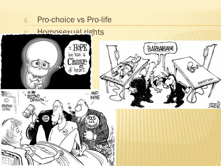 Pro-choice vs Pro-life