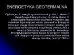 energetyka geotermalna