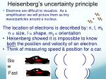 heisenberg s uncertainty principle