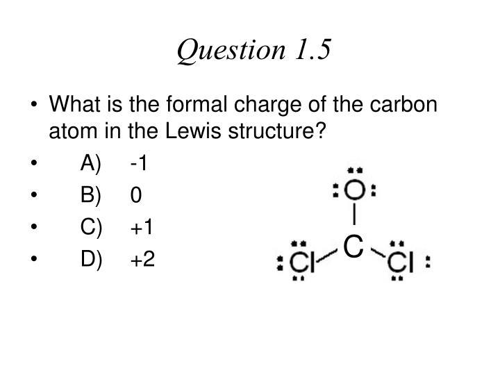 Question 1.5
