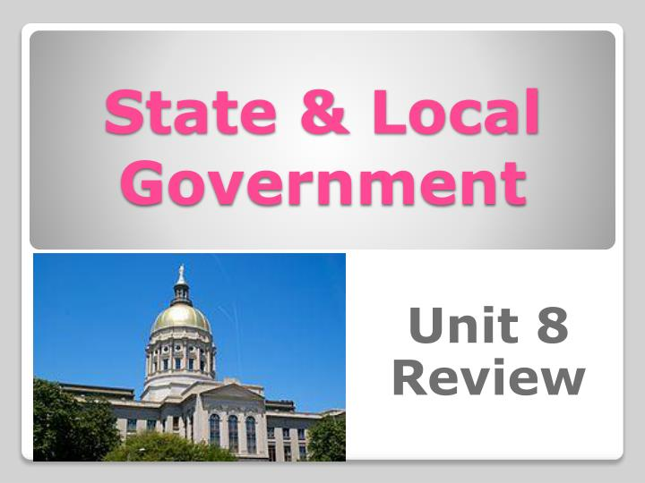 state local government n.