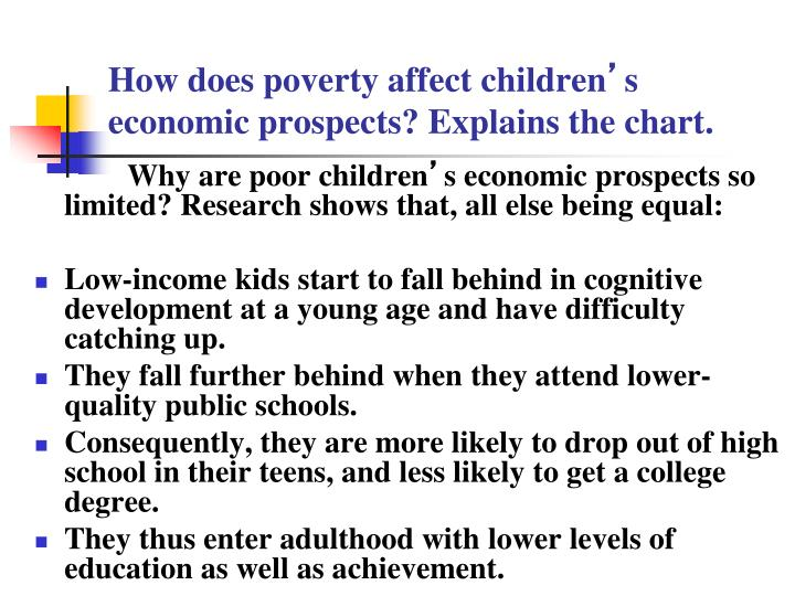 selvina colleemalay how far does povert How does poverty affect learning they have shelter, and health care when they need it if a crisis hits, they have savings how does poverty affect educational results poverty correlates very strongly with academic results schools with low test scores nearly always.