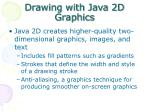 drawing with java 2d graphics