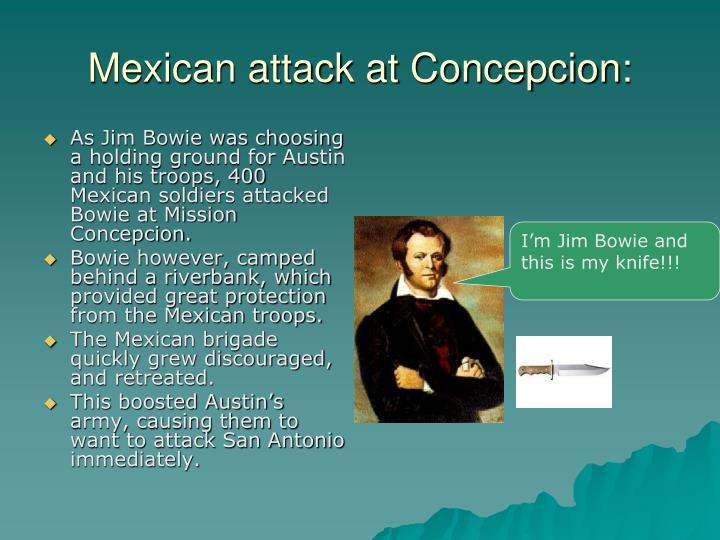 Mexican attack at Concepcion: