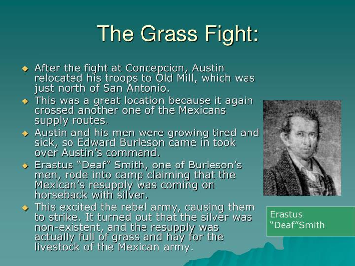 The Grass Fight: