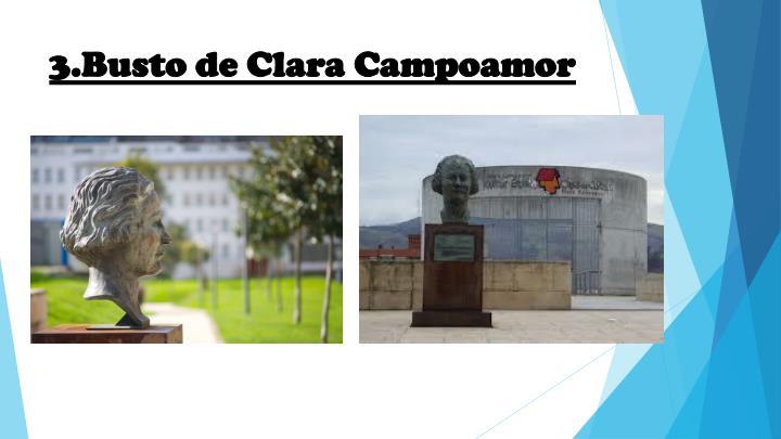 3.Busto de Clara Campoamor