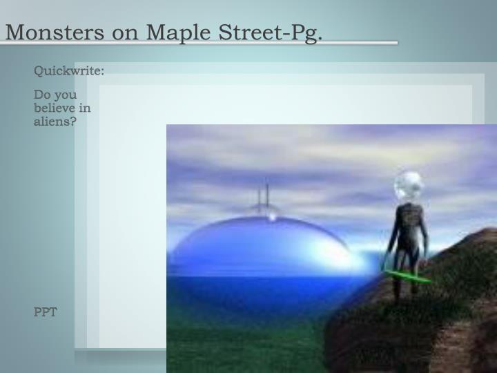 Monsters on Maple Street-Pg.