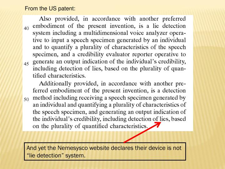 From the US patent: