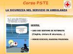 la sicurezza nel servizio in ambulanza7
