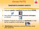 trasporto pazienti infetti