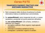 trasporto pazienti trattati con sostanze radioattive