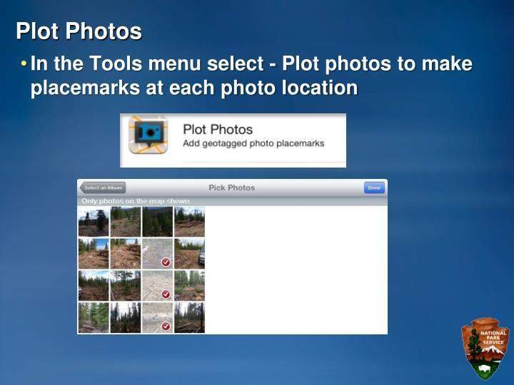 Plot Photos