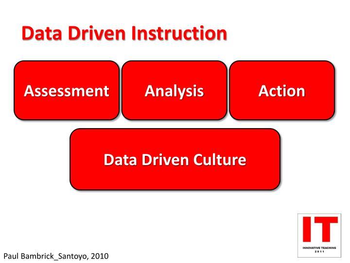 Data Driven Instruction