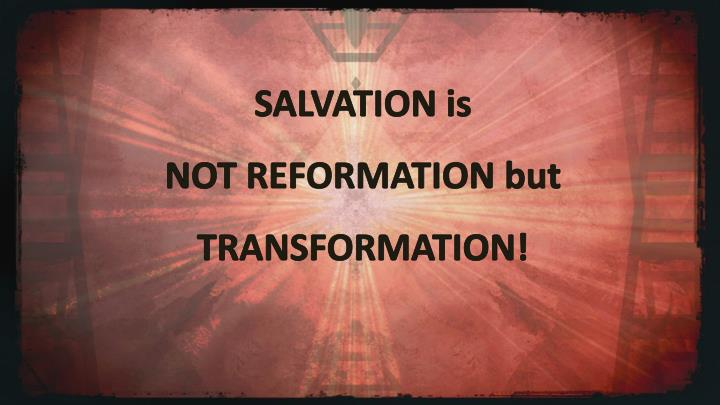 SALVATION is