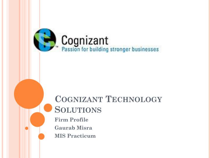 cognizant technology solutions n.
