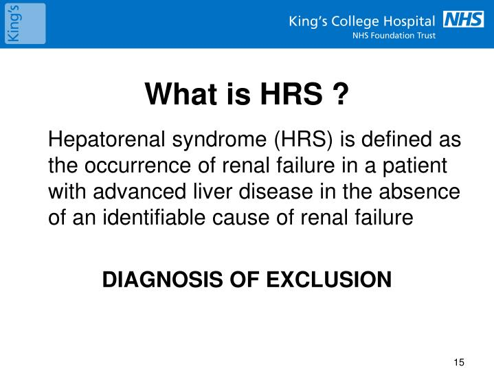 What is HRS ?