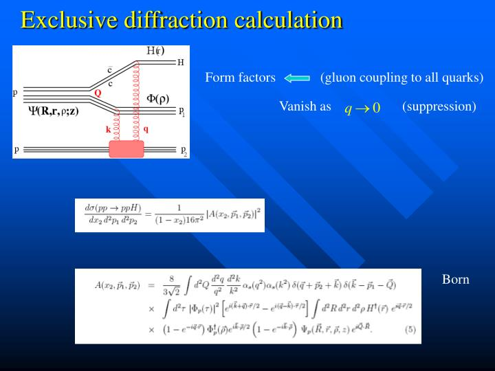 Form factors             (gluon coupling to all quarks)