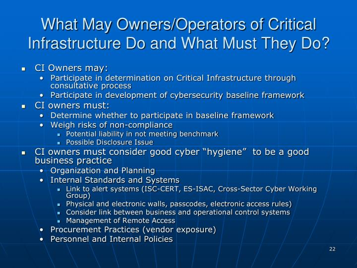 Critical Infrastructure Security Preparedness And Maturity