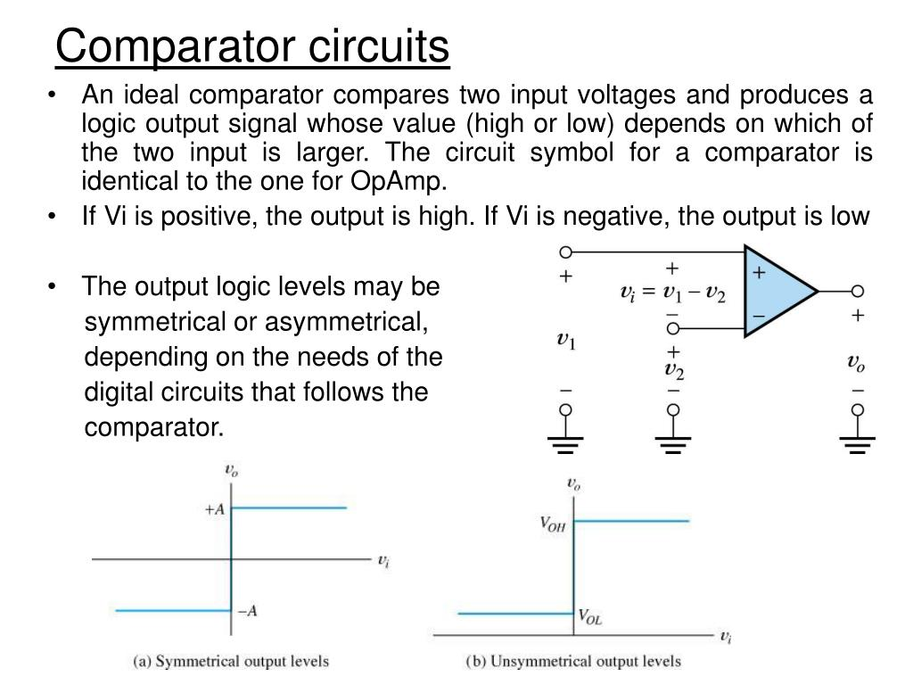 Voltage Comparator Circuit Ppt Worksheet And Wiring Diagram Looking At Window Circuits Powerpoint Presentation Id 3080999 Rh Slideserve Com High Speed Simple