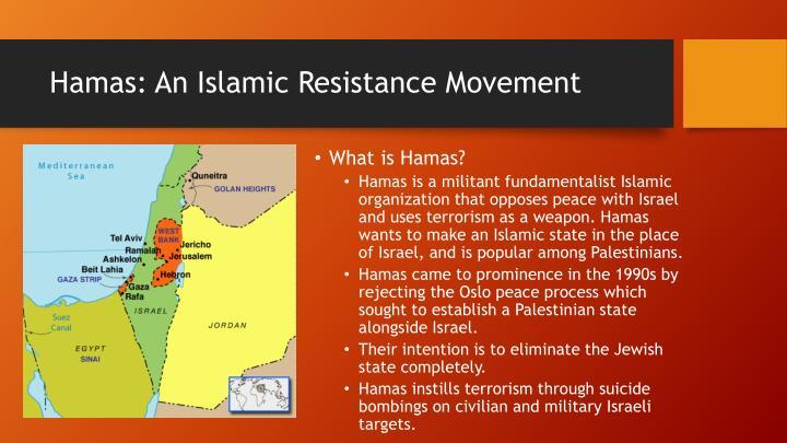 Hamas: An Islamic Resistance Movement