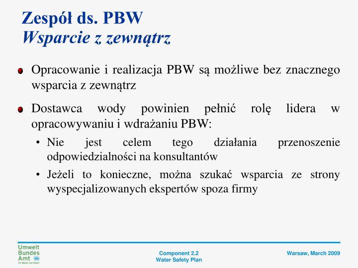 Zespół ds. PBW
