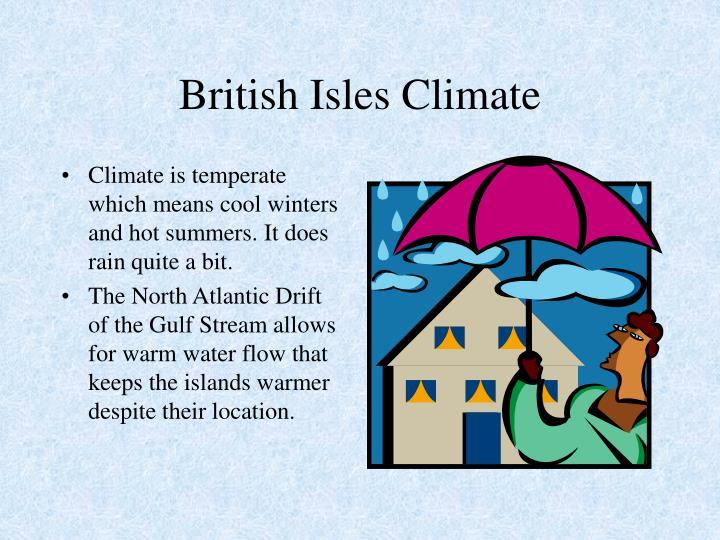 British Isles Climate