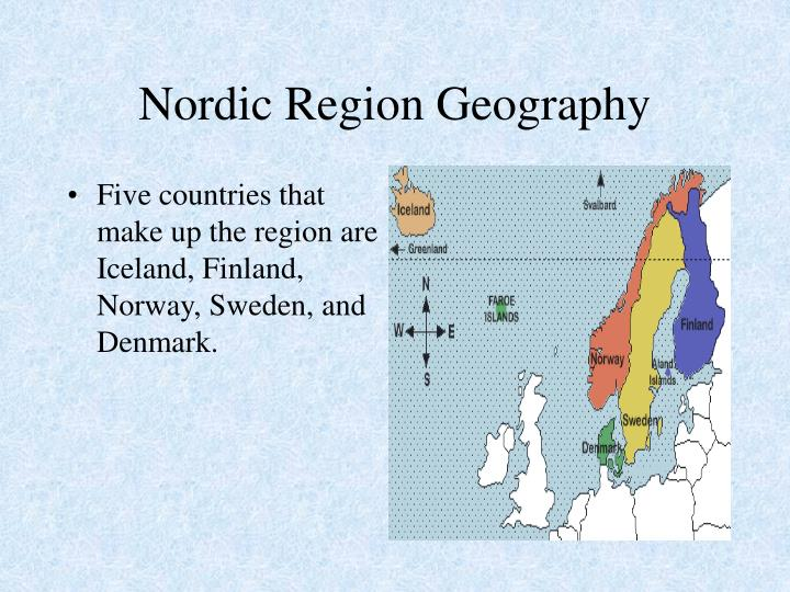 Nordic Region Geography