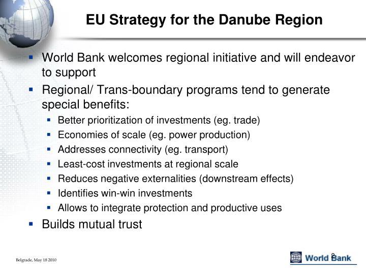 Eu strategy for the danube region