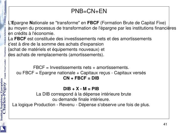 PNB=CN+EN