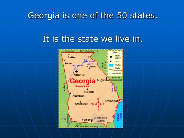 Georgia is one of the 50 states.