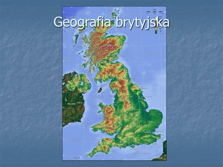 Geografia brytyjska