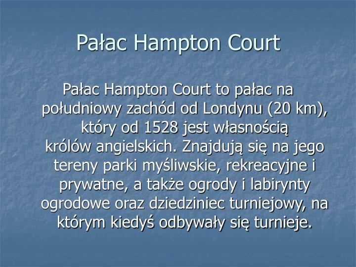 Pałac Hampton Court