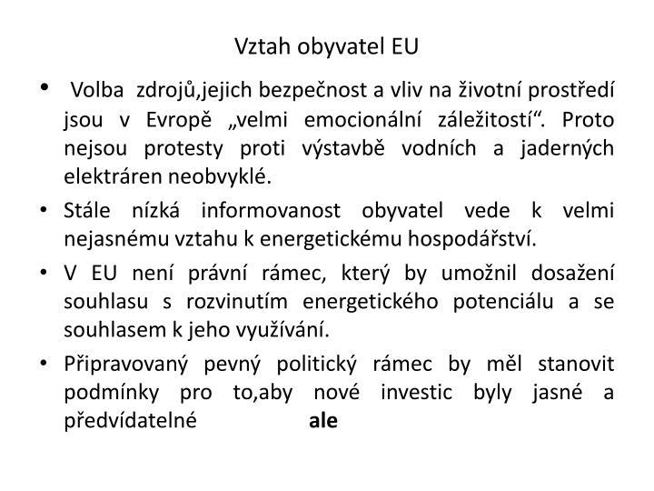 Vztah obyvatel EU