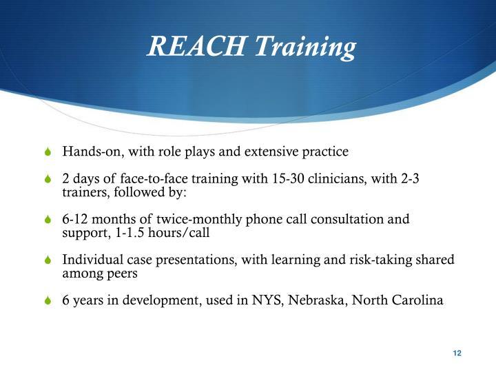 REACH Training