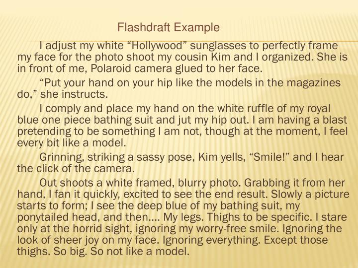 """I adjust my white """"Hollywood"""" sunglasses to perfectly frame my face for the photo shoot my cousin Kim and I organized. She is in front of me, Polaroid camera glued to her face."""