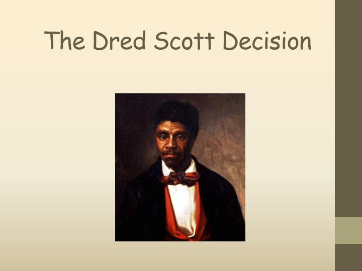 the dred scott decision n.