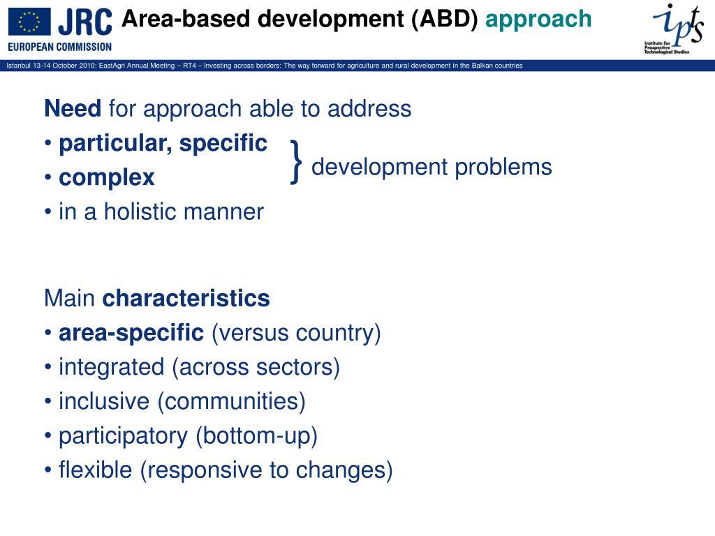 area based development approach - HD1024×768