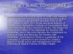 courtney burke comissioner opwdd