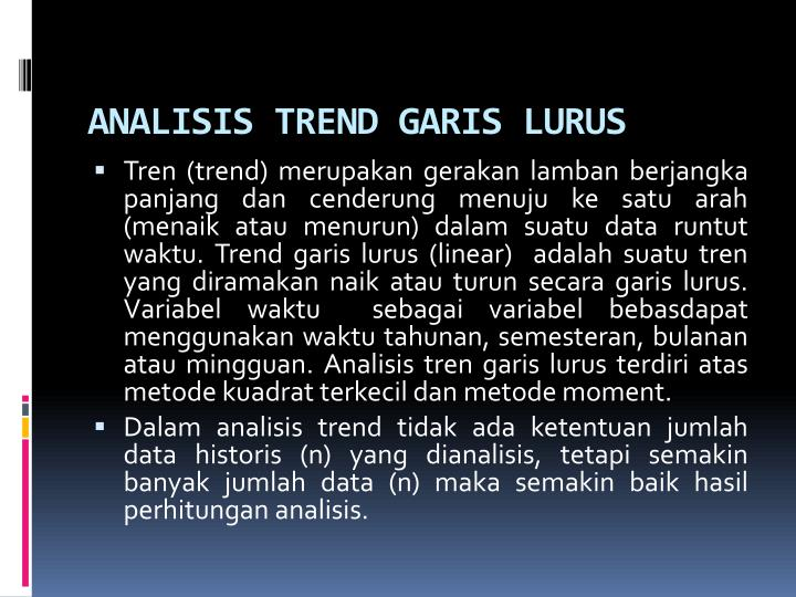 ANALISIS TREND